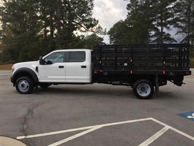 2019 Ford F-450 Crew Cab DRW 4x4, Stake Bed #3360U - photo 9