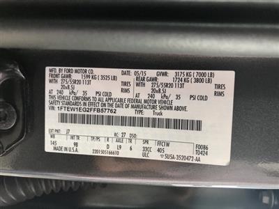 2015 F-150 SuperCrew Cab 4x4,  Pickup #4104U - photo 16