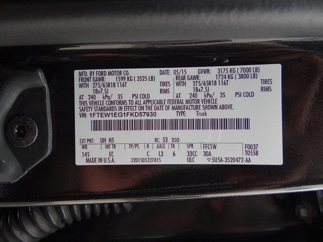 2015 Ford F-150 SuperCrew Cab 4x4, Pickup #37421U - photo 31