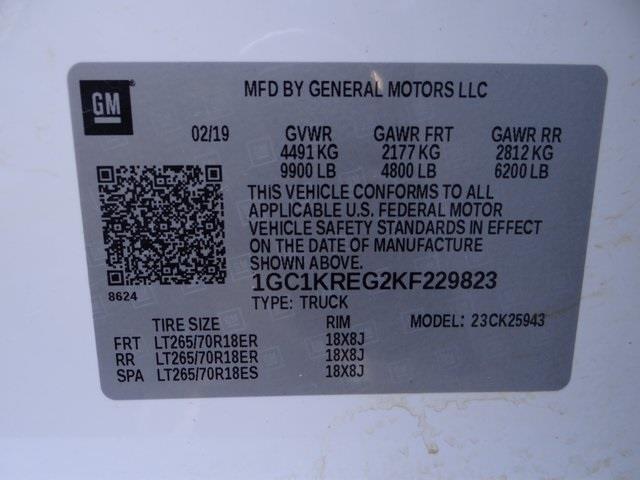 2019 Chevrolet Silverado 2500 Crew Cab 4x4, Platform Body #3842U - photo 24