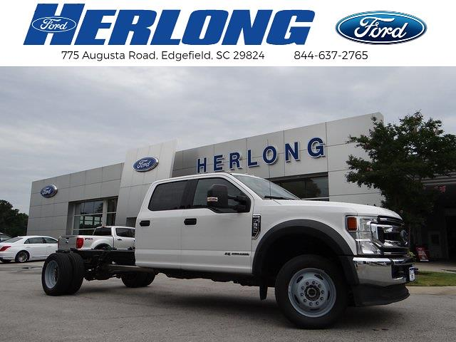 2020 Ford F-550 Crew Cab DRW 4x4, Stake Bed #3848U - photo 1