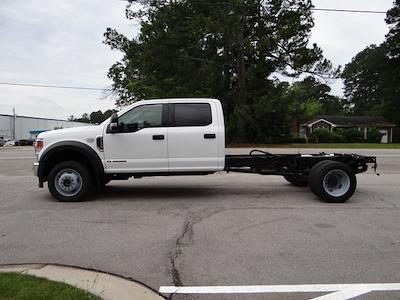 2020 Ford F-550 Crew Cab DRW 4x4, Stake Bed #3848U - photo 10