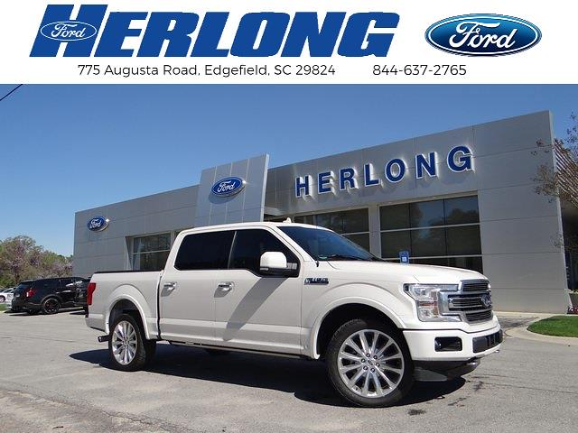 2018 Ford F-150 SuperCrew Cab 4x4, Pickup #3923U - photo 1