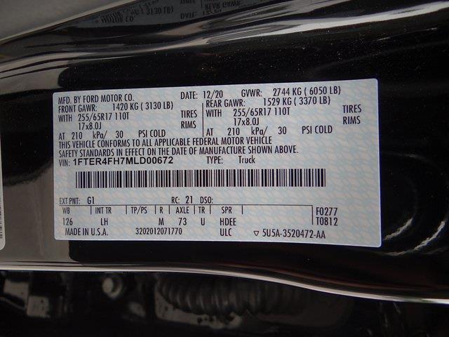 2021 Ford Ranger SuperCrew Cab 4x4, Pickup #3956U - photo 30