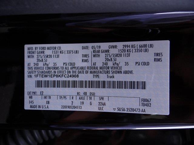 2019 Ford F-150 SuperCrew Cab 4x4, Pickup #3967U - photo 29