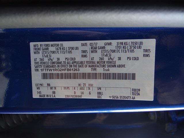 2017 F-150 SuperCrew Cab 4x4,  Pickup #39781U - photo 25