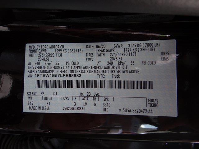 2020 Ford F-150 SuperCrew Cab 4x4, Pickup #4068U - photo 31