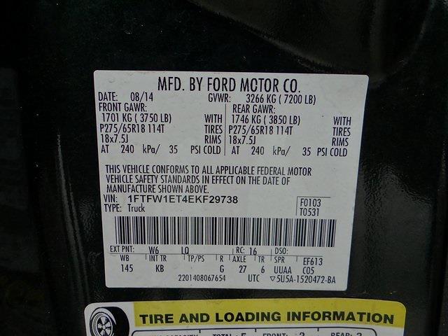 2014 F-150 SuperCrew Cab 4x4,  Pickup #40691U - photo 31