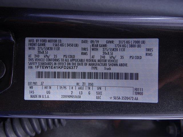 2019 F-150 SuperCrew Cab 4x4,  Pickup #4121U - photo 21