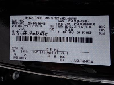 2021 Ford F-350 Crew Cab DRW 4x4, Cab Chassis #T1524 - photo 20