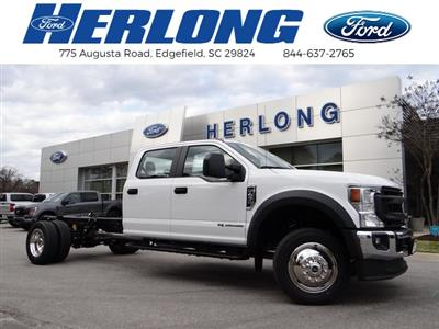 2021 Ford F-450 Crew Cab DRW 4x2, Cab Chassis #T1526 - photo 1