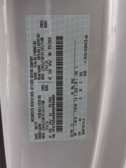 2019 Ford F-250 Super Cab 4x2, Knapheide Steel Service Body #T5867 - photo 19