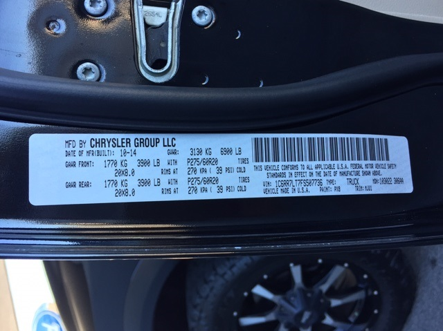 2015 Ram 1500 Crew Cab 4x4, Pickup #T60051 - photo 25