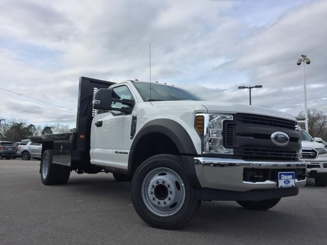2019 Ford F-550 Regular Cab DRW 4x2, Knapheide Platform Body #T6078 - photo 1
