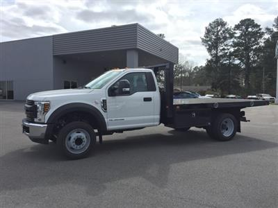 2019 Ford F-550 Regular Cab DRW 4x2, Knapheide Value-Master X Platform Body #T6078 - photo 13