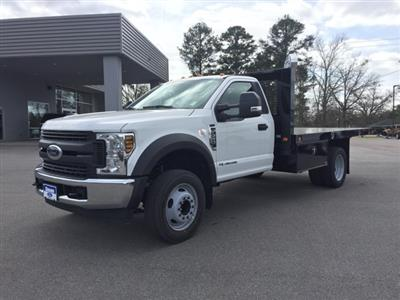 2019 Ford F-550 Regular Cab DRW 4x2, Knapheide Value-Master X Platform Body #T6078 - photo 4