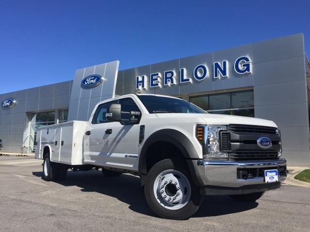 2019 Ford F-450 Crew Cab DRW 4x2, Knapheide Service Body #3782U - photo 1