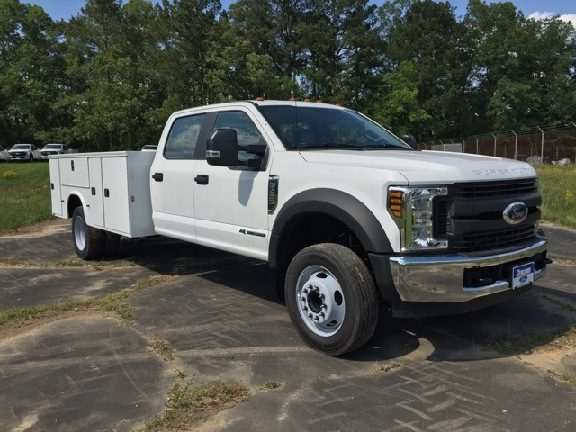 2019 Ford F-450 Crew Cab DRW 4x2, Knapheide Steel Service Body #3779U - photo 4