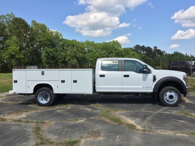 2019 Ford F-450 Crew Cab DRW 4x2, Knapheide Steel Service Body #3779U - photo 7