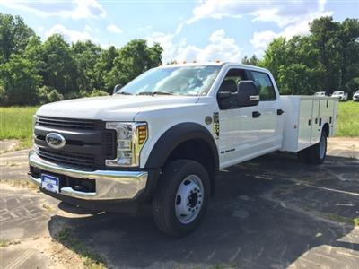 2019 Ford F-450 Crew Cab DRW 4x2, Knapheide Steel Service Body #3779U - photo 8