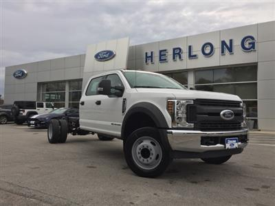 2019 Ford F-550 Crew Cab DRW 4x2, Cab Chassis #T6134 - photo 1