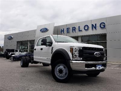 2019 Ford F-450 Crew Cab DRW 4x2, Cab Chassis #T6135 - photo 1
