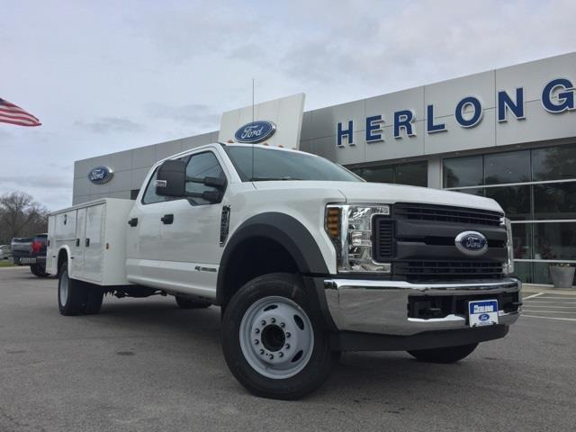 2019 Ford F-450 Crew Cab DRW 4x2, Knapheide Service Body #3783U - photo 1