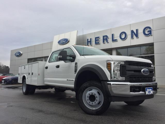 2019 Ford F-450 Crew Cab DRW 4x2, Knapheide Steel Service Body #3776U - photo 1