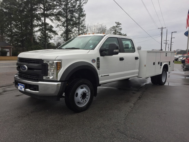 2019 Ford F-450 Crew Cab DRW 4x2, Knapheide Steel Service Body #3776U - photo 4