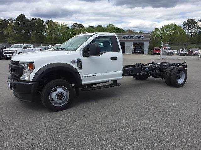 2020 Ford F-550 Regular Cab DRW 4x4, Cab Chassis #T6232 - photo 7