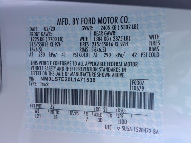 2020 Ford Transit Connect FWD, Empty Cargo Van #T6243 - photo 3