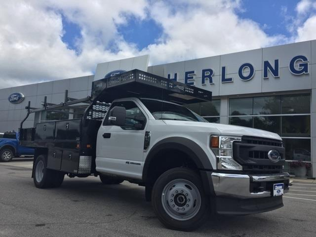 2020 Ford F-550 Regular Cab DRW 4x4, Knapheide Concrete Body #T6273 - photo 1