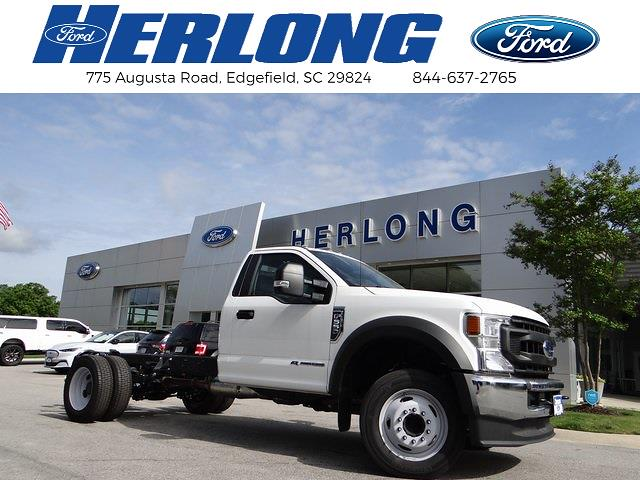 2020 Ford F-550 Regular Cab DRW 4x2, Knapheide Platform Body #T6275 - photo 1