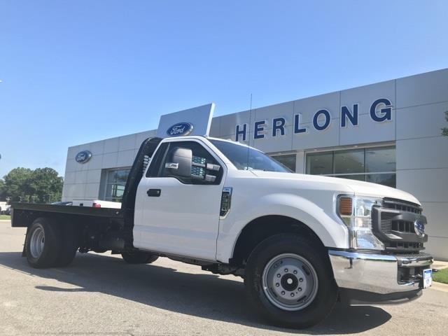 2020 Ford F-350 Regular Cab DRW 4x2, Platform Body #T6280 - photo 1