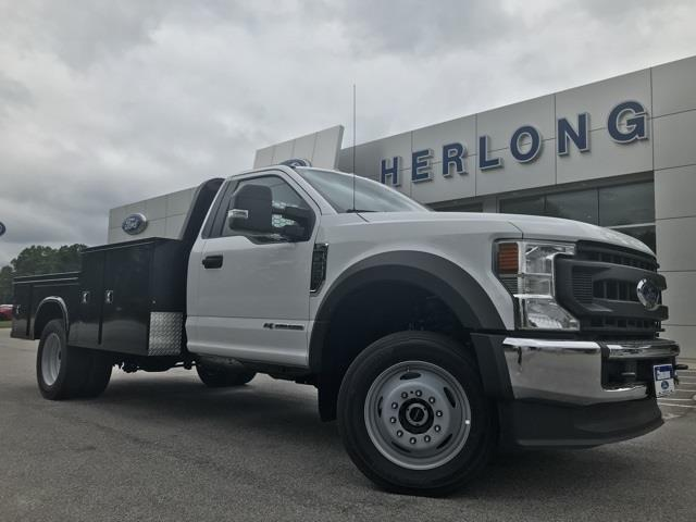 2020 Ford F-550 Regular Cab DRW 4x4, Knapheide Platform Body #T6281 - photo 1