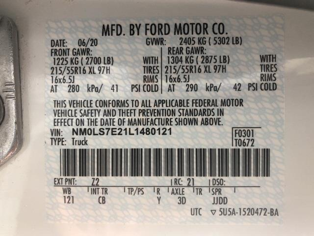 2020 Ford Transit Connect, Empty Cargo Van #T6311 - photo 15