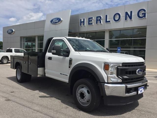 2020 Ford F-550 Regular Cab DRW 4x2, Platform Body #T6321 - photo 5