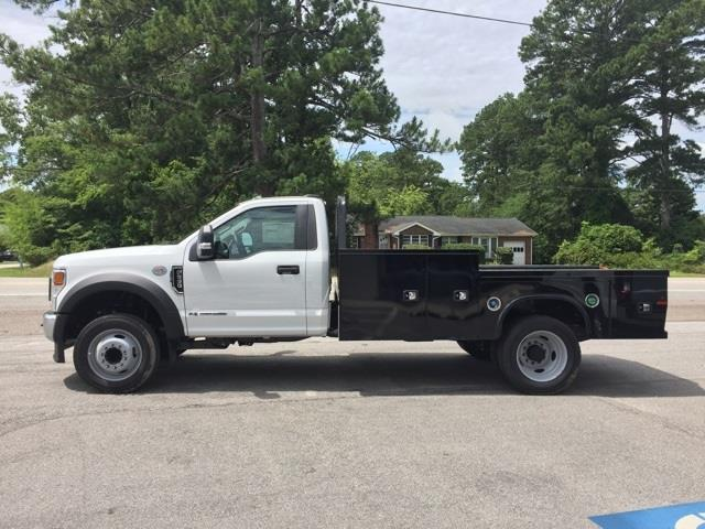 2020 Ford F-550 Regular Cab DRW 4x2, Platform Body #T6321 - photo 8