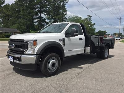2020 Ford F-550 Regular Cab DRW 4x2, Platform Body #T6321 - photo 4
