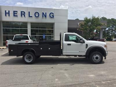 2020 Ford F-550 Regular Cab DRW 4x2, Platform Body #T6321 - photo 6