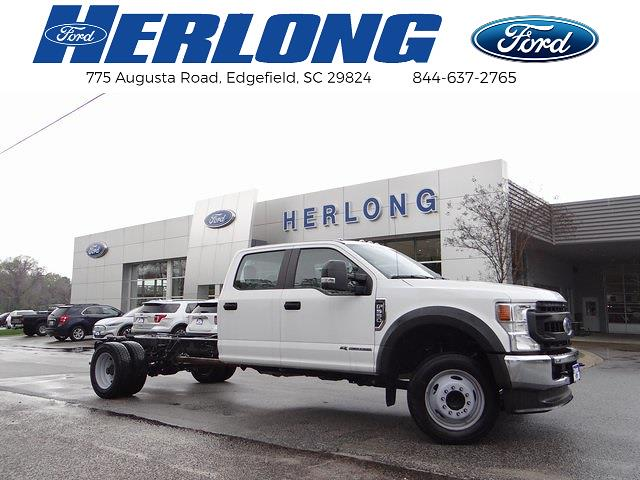 2020 Ford F-550 Crew Cab DRW 4x2, Knapheide Platform Body #T6457 - photo 1