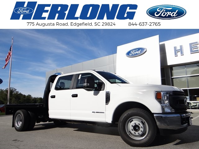 2020 Ford F-350 Crew Cab DRW 4x2, Platform Body #T6469 - photo 1