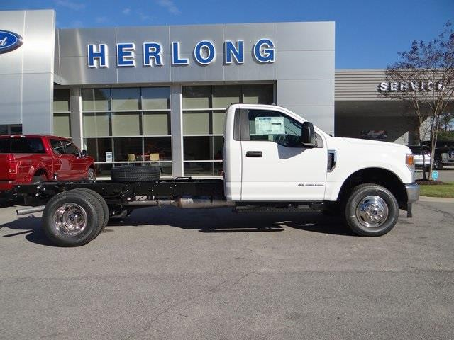 2021 Ford F-350 Regular Cab DRW 4x4, Cab Chassis #T6496 - photo 9