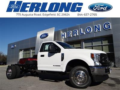 2021 Ford F-350 Regular Cab DRW 4x4, Cab Chassis #T6496 - photo 1