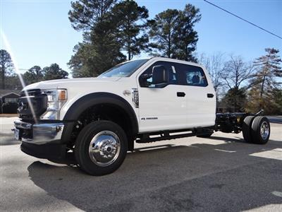 2021 Ford F-550 Crew Cab DRW 4x4, Cab Chassis #T6504 - photo 4