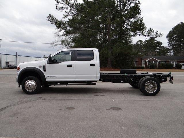 2021 Ford F-450 Crew Cab DRW 4x4, Cab Chassis #T6508 - photo 8
