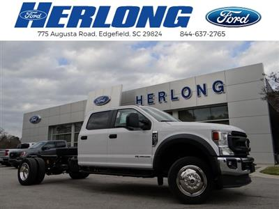 2021 Ford F-450 Crew Cab DRW 4x4, Cab Chassis #T6508 - photo 1