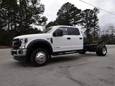 2021 Ford F-450 Crew Cab DRW 4x4, Cab Chassis #T6508 - photo 4