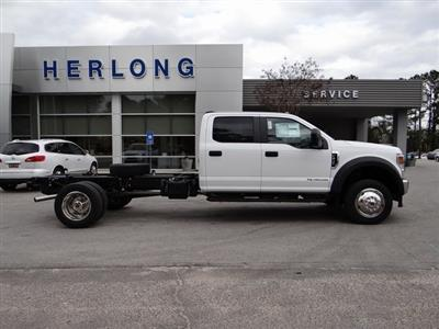 2021 Ford F-450 Crew Cab DRW 4x4, Cab Chassis #T6508 - photo 9