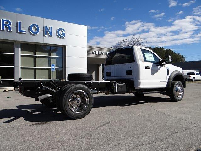 2021 Ford F-450 Regular Cab DRW 4x4, Cab Chassis #T6513 - photo 2